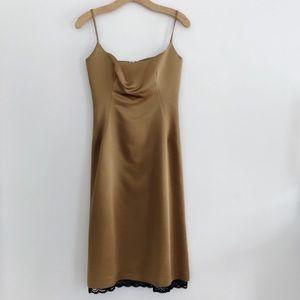 Zara silk party dress